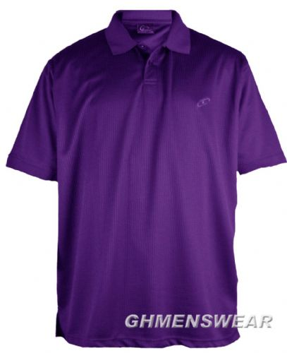 Mesh Polo Shirt PURPLE